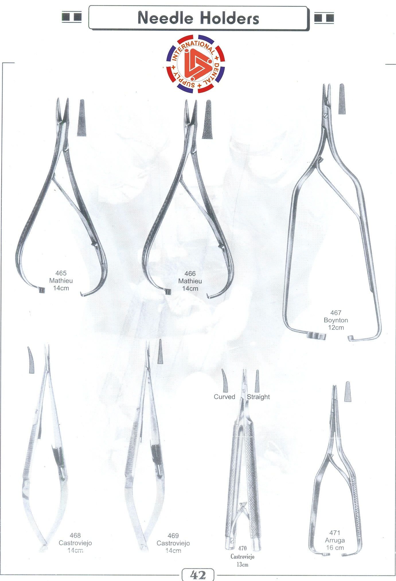 Needle Holders & towel clamps